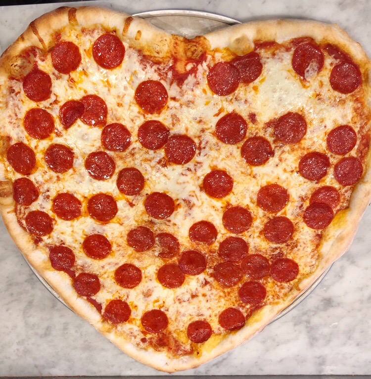 "Valentine's Day Pies: Nothing says ""I Love You"" like pizza!"